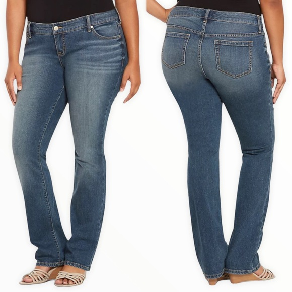 TORRID Barely Boot Jeans - Medium  Wash Size 16R